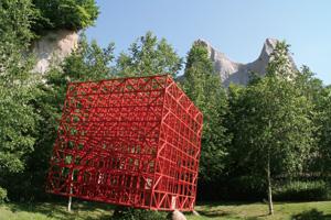 赤い空の箱